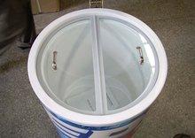 40L/50L/75L Round Coolers for Drinks, retail beverage cooler for Coca Cola Promotion