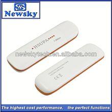 WCDMA HSUPA hsdpa 3g 3.5g wireless hsdpa usb modem 7.2mbps support pc voice function