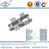 S150 long pitch 153.67 bucket elevator steel slat conveyor chain with K-3 attachment