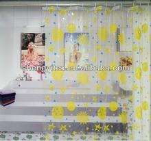 Fashionable printed PEVA Shower Curtain /bath curtains