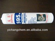 595 heat resistant silicone sealants