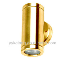 Wall spot light up and down solid brass outdoor wall lights