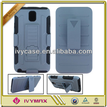 hot selling stand holster robot combo case for samsung galaxy note 3