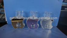 4278T-50ml empty glass perfume apple bottle