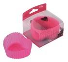 Heart shape silicone teacup cupcake mold