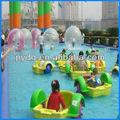 Venta caliente de colores botes de remo, juegos inflables del agua