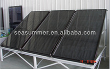 Copper heater solar water heater Flat panel solar collector 300liters