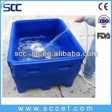 De equipos para acuicultura, los tanques de la acuicultura, de plástico de los tanques de peces