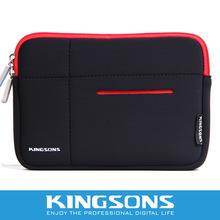 "black neoprene laptop sleeve case by yf factory 15.6\"" custom print laptop sleeve"