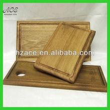 laser engraved oak serving board/carved oak cutting board