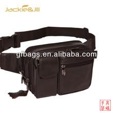 GF-Z031 Rectangle Leather Waist Bag Sports Bag for Men