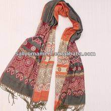Fashion popular new design imitation cashmere/acrylic printed scarves