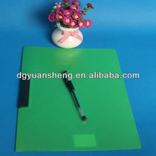 Impreso carpeta de archivo de oscilación decorativa oficina informe pp carpeta