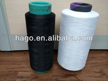 100% polyester yarn, DTY,150D/48F 100%polyester yarn count
