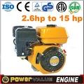 Poderoso 6.5hp 168fb refrigerado a ar motor a gasolina com as melhores peças amplamente aplicação excelente pequeno motor a gasolina com embreagem