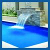 fiberglass mini waterfall for decoration/water jet fountain