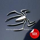 custom differrent color metal car emblem sticker