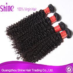 Guangzhou shine hair company co., ltd best human hair company