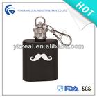 1oz mini stainless steel hip flask