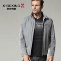K- boxe primavera slim curto men's casaco jaqueta, roupa por atacado