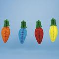 papel de seda artesanal decorativo pendurado pimentas para decoração de casa