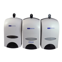 Industrial Soap Dispenser with Refillable Bottle or Disposable Bag