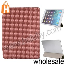 New Fashion Tri-fold Smart Cover Front Leather Skin Stand Cover for iPad Air