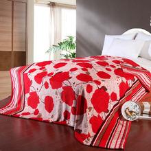 2014 Fashion Warm Polyester flannel Fleece Blanket