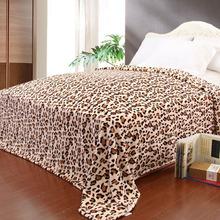 100% polyester household polyester fleece blanket as a bedsheet