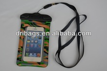 mobile phone waterproof case with neck strap