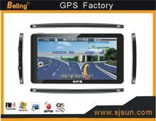 HD touch screen 7 inch car GPS navigation Win CE 6.0 gps navigation