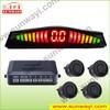 LED sensor de estacionamento with 2,4,6 parking sensor optitional