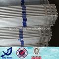 Tubulação de aço galvanizado fence/com efeito de estufa