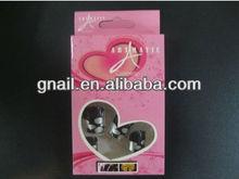 black TOE NAILS false fake artificial art 3D toenails