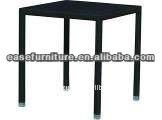 outdoor aluminum frame rattan bar table E6073