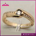 Bague en diamant symbole de l'amour éternel