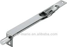 "8""x19 stainless steel flush bolt, edge tower bolt lock for hardware accessories"