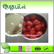 2014 New crop fresh canned strawberries OEM brands