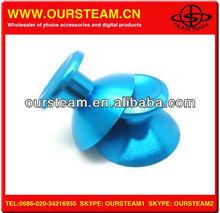 Custom Aluminium Blue thumbsticks stick cover for xbox one X BOX ONE Controller Button
