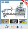 Caja de cartón de embalaje de la máquina de encuadernación hsz-120bd plc de la máquina de control de equipo de boxeo