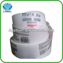 Custom printing permanent personalized address labels,self adheisve name labels