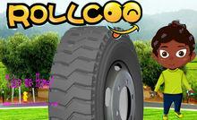 High performance Light Truck Tyre 8.25R16LT Transportation in coalmine Rollcoo Brand