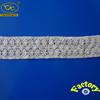 China develop pattern cotton chemical scalloped eyelash lace trim for ladies garment
