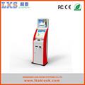 kiosque de paiement lks machine avec accepteur de billets lecteur de carte