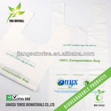 biodegradable compostable EN13432/BPI/OK compost certified bag