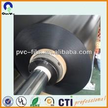 100% virgin pvc material matte black/fine frost pvc sheet/matte black car paint