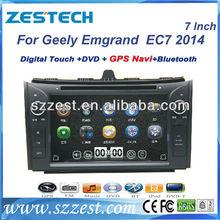 "ZESTECH Digital TV radio Dvd player gps 7"" car TV for Geely Emgrand EC7 car TV with gps"
