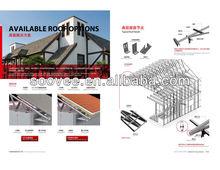 High level villa,modular homes prefab house,solar panels for apartments