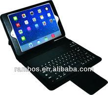 "Hot Sell 7.9"" Wireless PU Leather Cover Bluetooth Keyboard for iPad Mini 2"