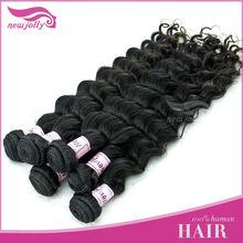 Wholesale one donor tangle free natural wave virgin brazilian freetress hair